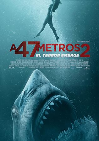 Portada de A 47 metros 2: el terror emerge