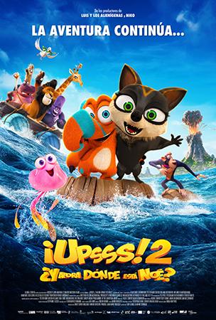Portada de ¡Upsss 2! ¿Y ahora dónde está Noé?