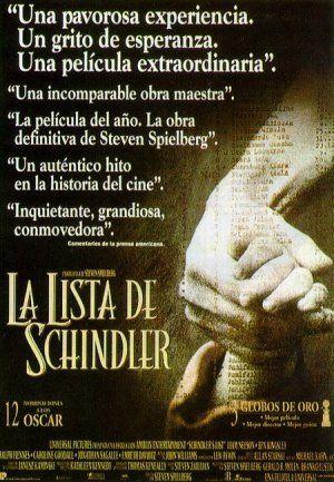 Portada de La lista de Schindler