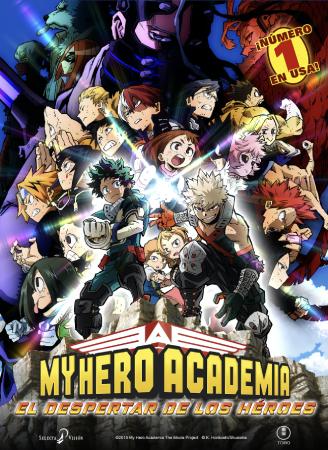 My hero academia. El despertar de los héroes
