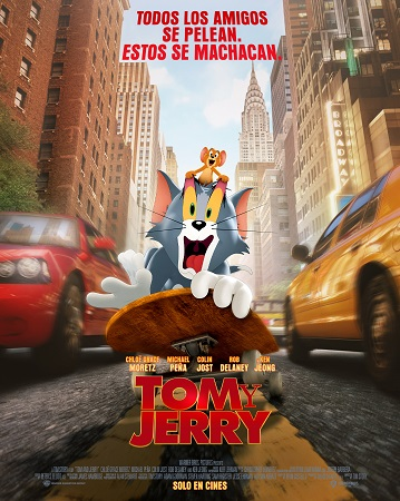 Portada de Tom y Jerry